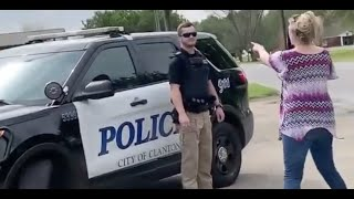 Another Karen Gets Her Husband Arrested.