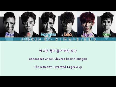 VIXX - Youth Hurts (청춘이 아파) [Hangul/Romanization/English] Color & Picture Coded HD