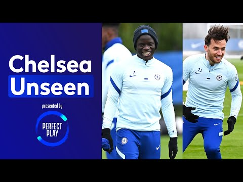 Getting Ready For The FA Cup Final, Kante & Kovacic Train Ahead Of Leicester Clash | Chelsea Unseen