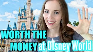 5 THINGS WORTH YOUR MONEY AT DISNEY WORLD | WHAT TO SPEND MONEY ON AT DISNEY WORLD | DISNEY TIPS!