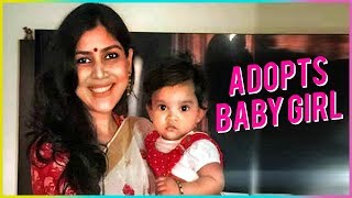 Sakshi Tanwar Proud Mother | Adopts Baby Girl | First Picture