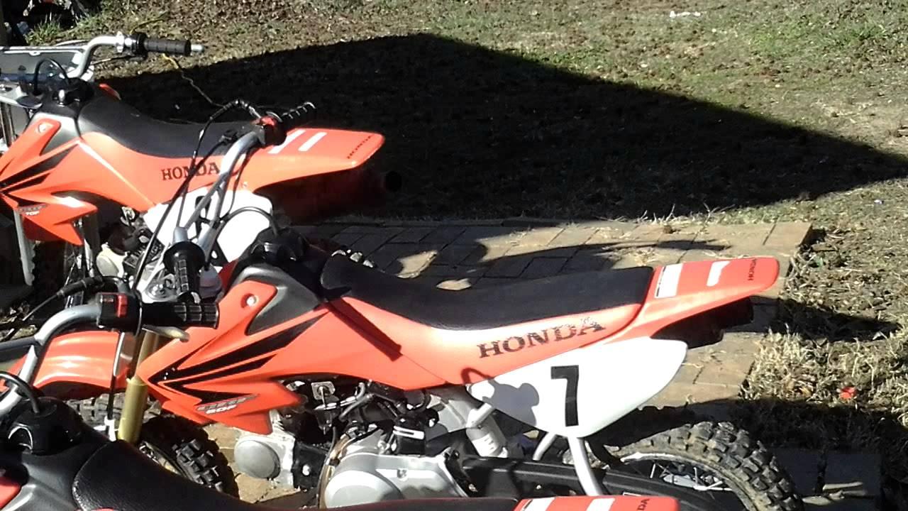 Honda Crf 50cc And 70cc Dirtbike Music Youtube