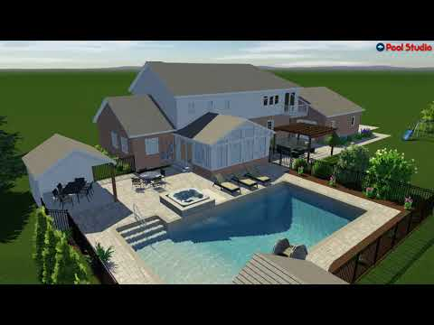 Mequon, WI Pool Renovation - Backyard Make Over - Concept Video