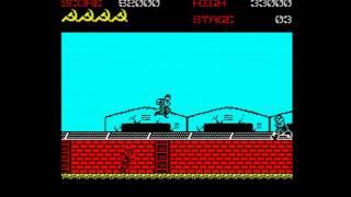 Green Beret Walkthrough, ZX Spectrum