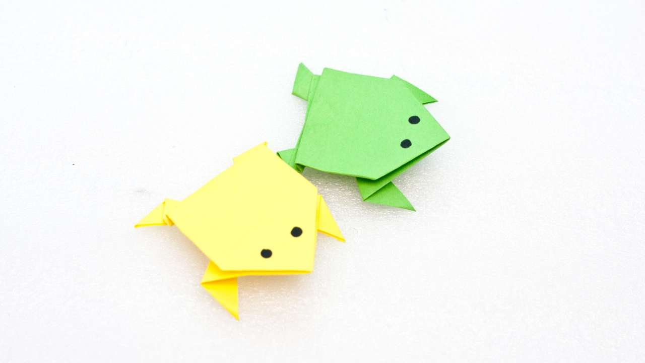 How to create fun and easy origami frog diy crafts tutorial how to create fun and easy origami frog diy crafts tutorial guidecentral jeuxipadfo Images