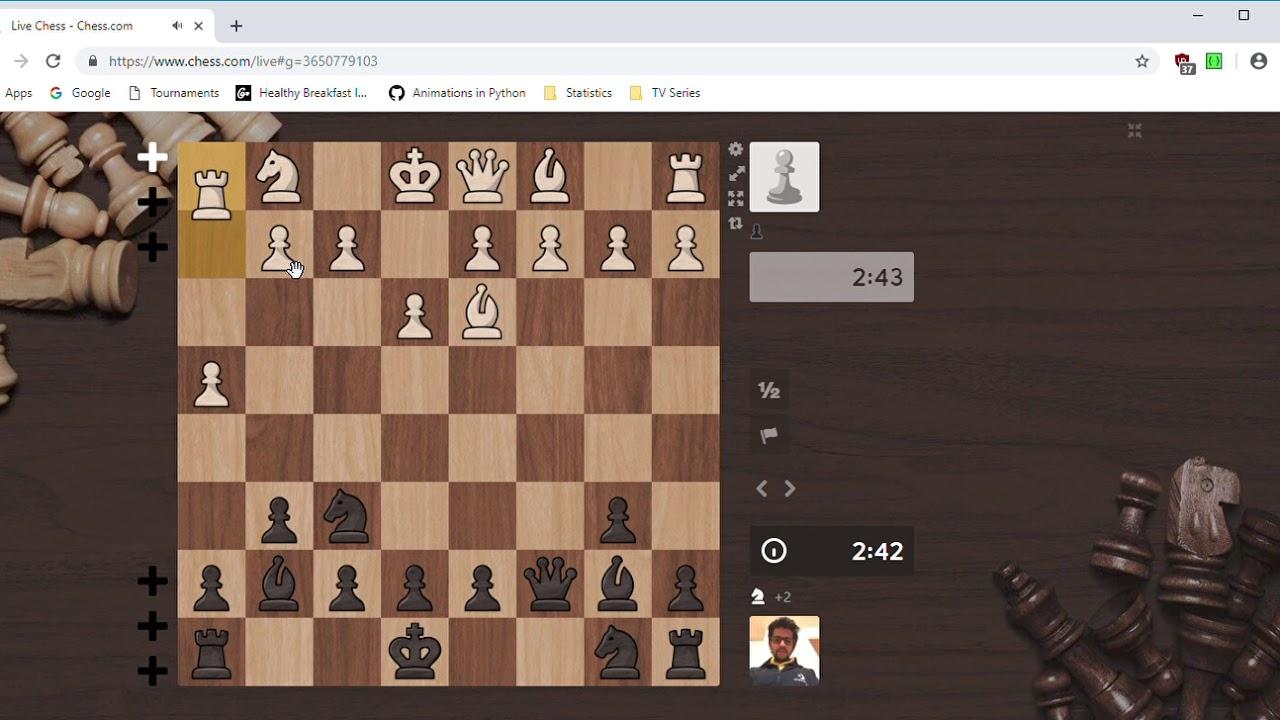 3+ Check | Chess #1