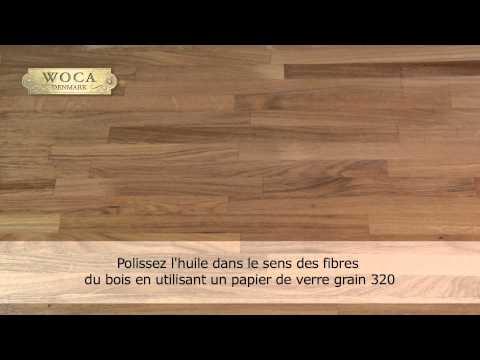 Woca Huile Pour Plan De Travail Youtube