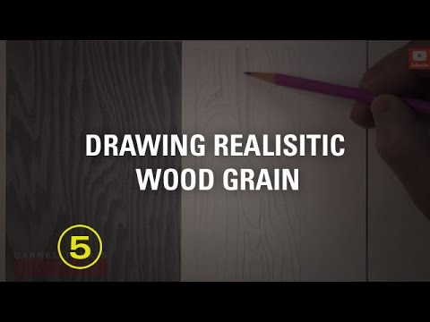 Learn to Draw Realistic Wood Grain (Touchable Textures #2 ...