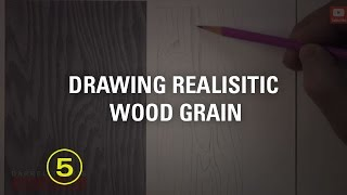 Learn To Draw Realistic Wood Grain (touchable Textures #2)