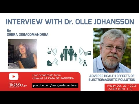 Interview with Dr. OLLE JOHANSSON - EMF expert by Debra Digiacomandrea