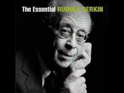 Rudolf Serkin plays Mendelssohn Capriccio Brillante for piano and Orchestra op. 22