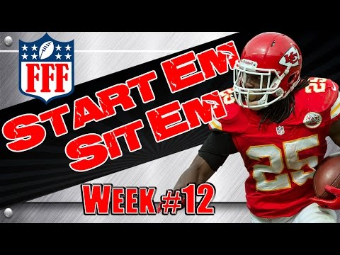 Week 12 Start