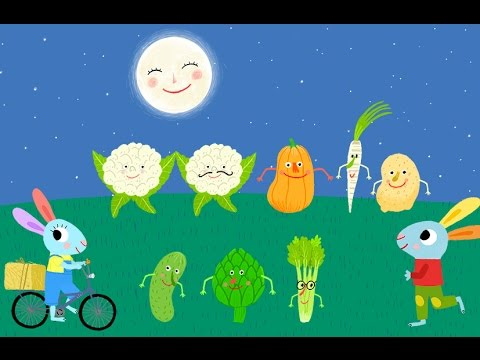 The vegetables. Songs for kids