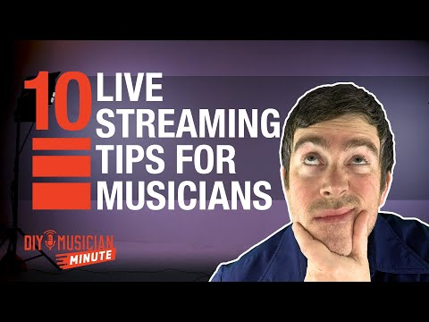 10 live-streaming tips for musicians