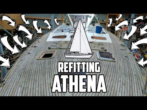 Sail Life - Going inside & removing deck hardware - DIY sailboat refit