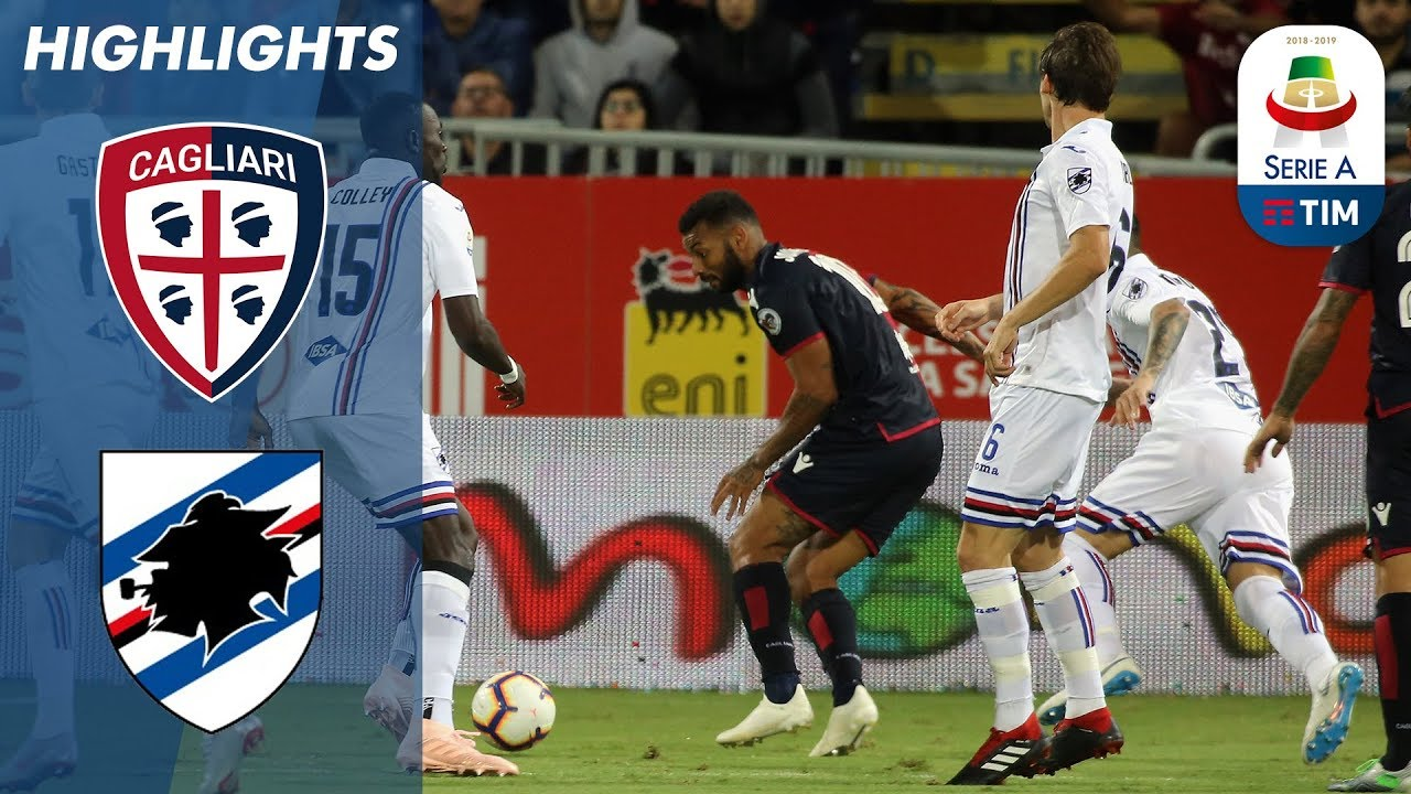 Cagliari 0 0 Sampdoria No Winner At The Sardegna Arena Serie A