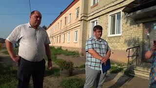 Встреча жителей ул. Маяковского №№10-12 с главой администрации г. Нижний Ломов