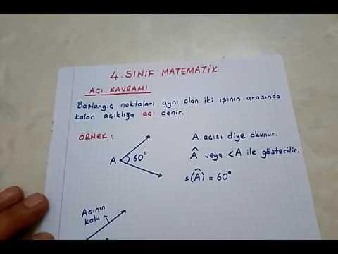 4 Sinif Matematik Acilar Aci Cesitleri Bulbulogretmen Matematik