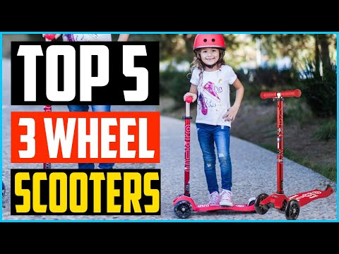 Top 5 Best 3 Wheel Scooters in 2020 – Reviews