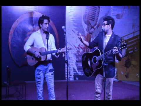 Nabeel Shaukat and Ali Zafar performing live together