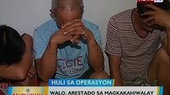 BT: 8, arestado sa magkakahiwalay na anti-illegal drug operations sa QC