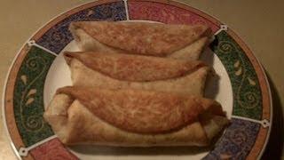 How to Make Fried Burritos