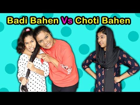 Badi Bahen Vs Choti Bahen   Funny Video   Pari's Lifestyle