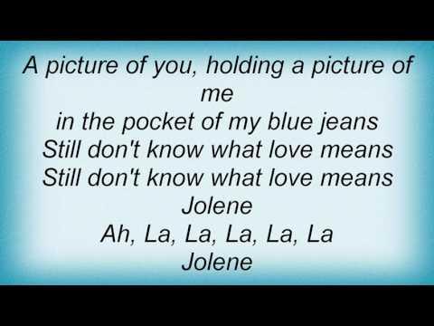 Ray Lamontagne - Jolene Lyrics
