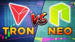 Кто победит — TRON vs NEO? Крутой маркетинг против технологий. Прогноз 2019