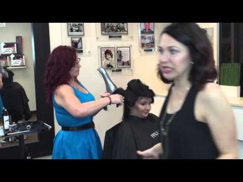 Salon 427 BLOWDRY training