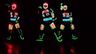 Iluminate Dancers in 704 Club Guyana
