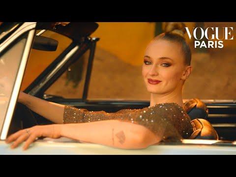 Sophie Turner shows you how to change a car tire | Vogue Paris