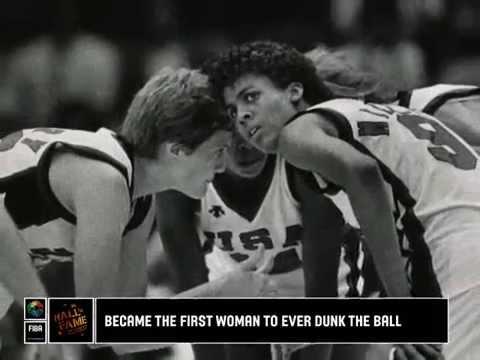 Cheryl MILLER - FIBA Hall of Famer 2010 Class