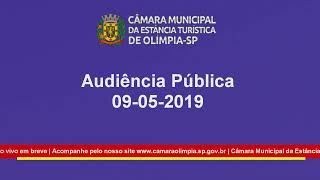 Audiência Pública  09-05-2019