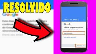 Como remover conta Google Moto G4 PLUS 7.0