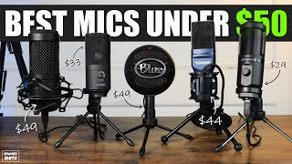Best Microphones For Singing/ Streaming Under $50 On Amazon!! (2021) | Best Microphones Under $50!!