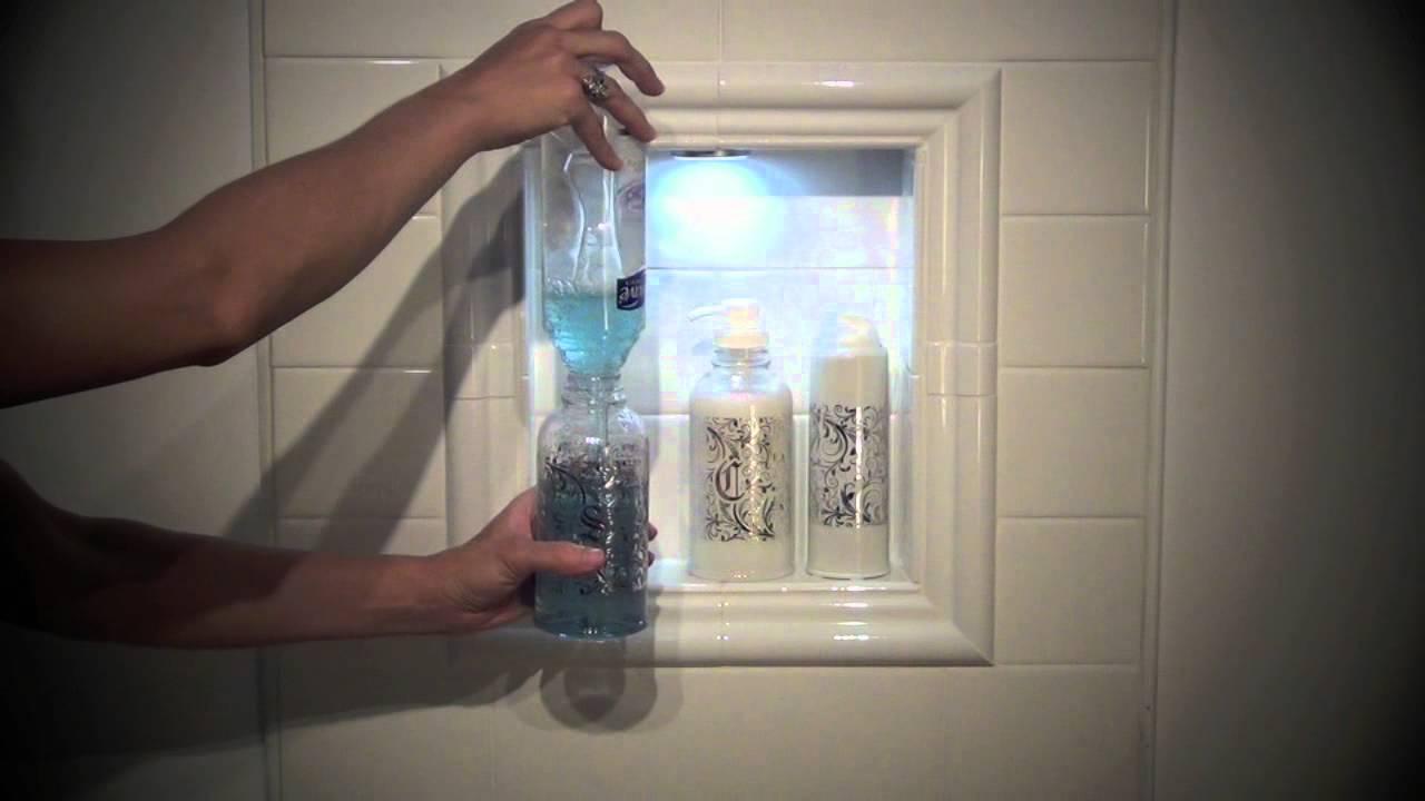 Decorative Plastic Shampoo Bottle With Pumps Plastic
