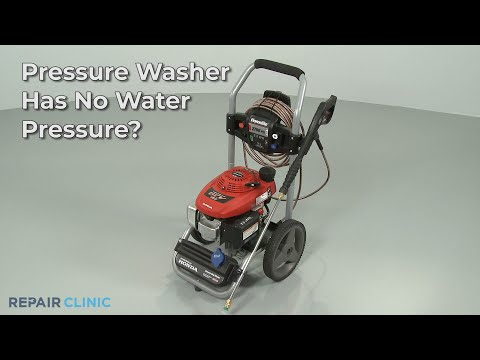 "Thumbnail for video ""Pressure Washer Has No Water Pressure? Pressure Washer Troubleshooting """