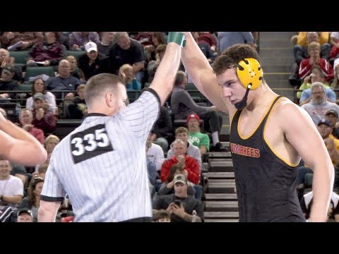 Lewis Fernandes of Voorhees wins NJSIAA state wrestling title at 285 pounds