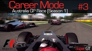 F1 2013 | Career Mode: Australia Race [S1 R1]