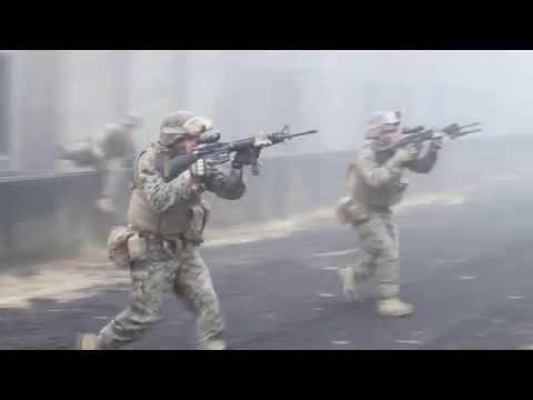 Urban Warfare Training, Part 3 -- Inside the MOUT town