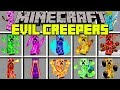 Minecraft EVIL CREEPERS MOD | SURVIVE AGAINST OP CREEPER ARMY! | Modded Mini-Game w/ MooseCraft