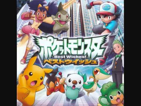 Pokemon Anime Song Best Wishes Original Karaoke