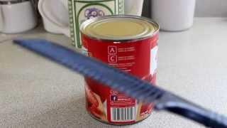 Comment ouvrir une bo te de conserve sans ouvre bo te yourepeat - Comment ouvrir une boite de conserve ...