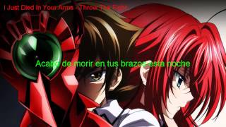 Repeat youtube video I Just Died In Your Arms - Throw The Fight (Sub español)