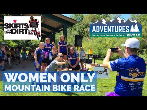 Skirts in the Dirt   mountain bike race   Women Only