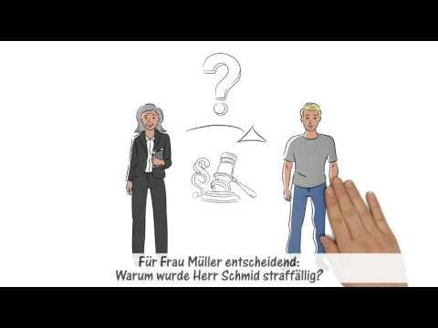 """Erklärfilm über das Berufsbild """"Bewährungshelfer"""" - Bayern"""