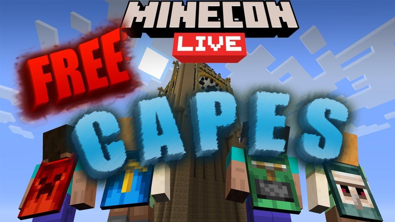 FREE MINECON CAPES 2020!!! - YouTube
