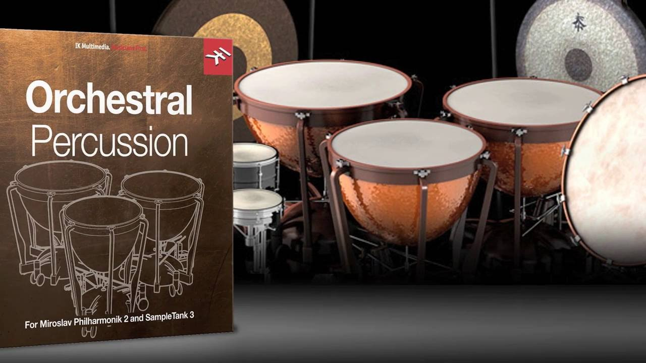 IK Multimedia - Orchestral Percussion