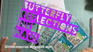 Butterfly Reflections Ink late Aug 2015 Haul